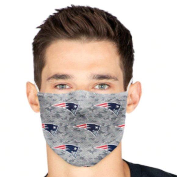 Patriots Fanatics Branded Adult Camo face mask